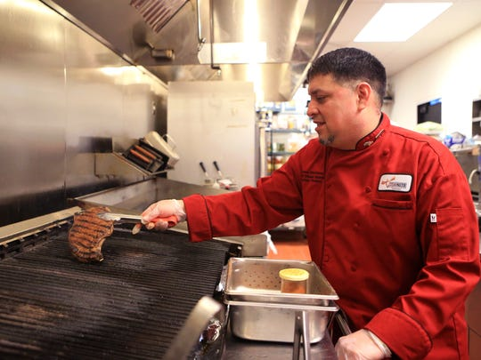 LongHorn Steakhouse Grill Master Jesse Montalva has been with LongHorn Steakhouse for more than 15 years. He shares his five tips to grilling a steak. The fourth tip is to flip the steak every three to four minutes.