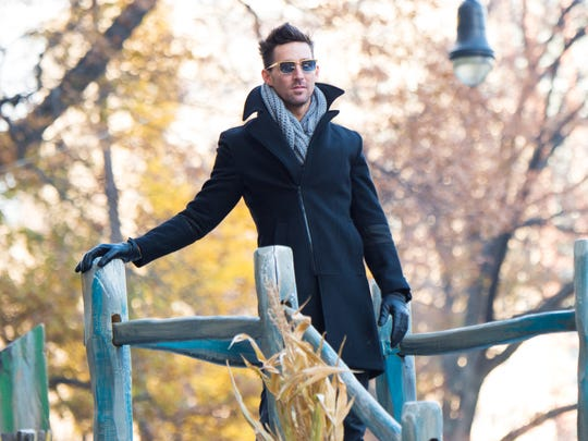 Country music singer Jake Owen participates in the Macy's Thanksgiving Day Parade on Thursday, Nov. 26, 2015, in New York.