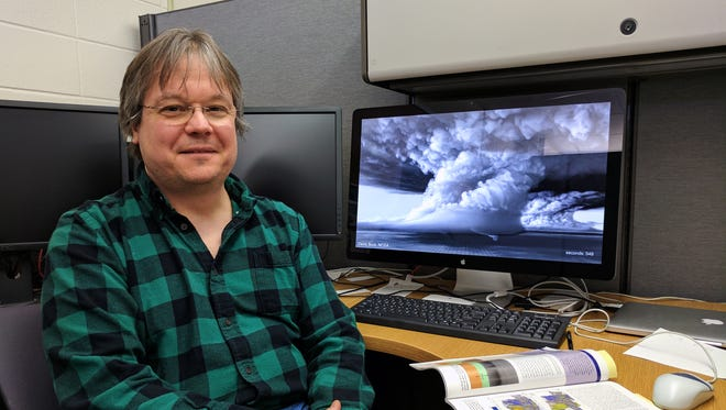 Researcher Leigh Orf is with the UW-Madison Cooperative Institute for Meteorological Satellite Studies and leads a team using supercomputers and modeling techniques to re-create the events leading up to the creation of a tornado.