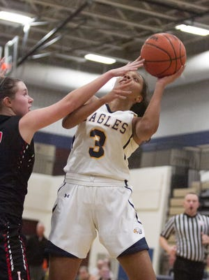 Graysen Cockerham scored a game-high 18 points in three quarters of action, leading Hartland to a 61-12 victory over Linden in both teams' basketball season opener.