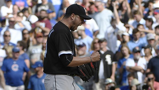 In 41 appearances with the White Sox this season, Anthony Swarzak posted a 2.23 ERA while striking out 52 hitters in 48 1/3 innings and limiting opponents to a .216 batting average.