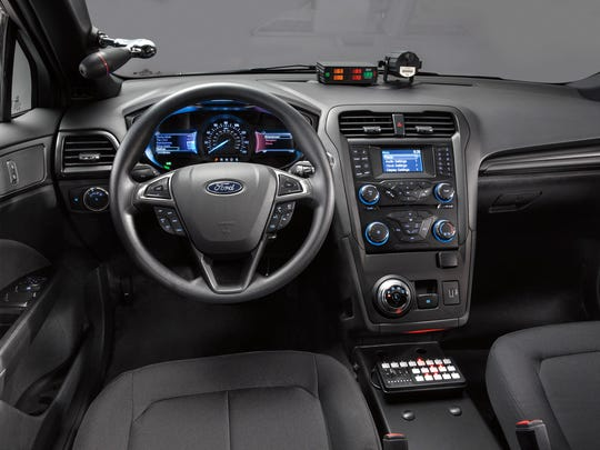The 2018 Ford Police Responder Hybrid Sedan