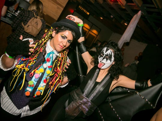 Dress up and head out to one of the many costume parties happening this weekend.