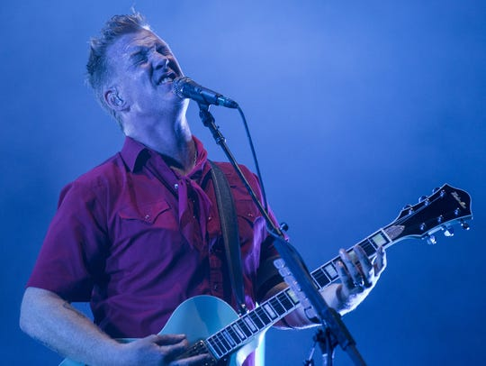 Queens of the Stone Age performs during the Innings