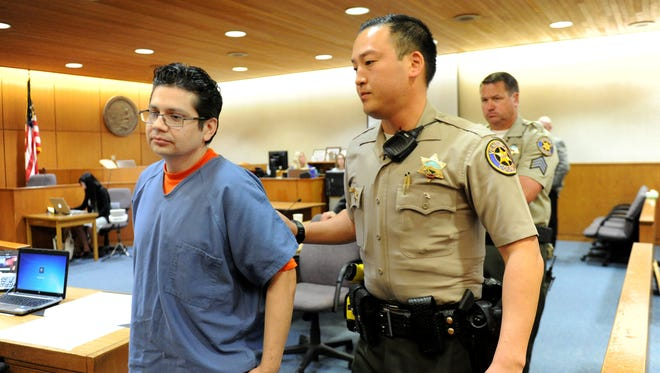 Marco Casillas was sentenced Wednesday morning to life in prison without parole for the 1997 stabbing death of 16-year-old Jake Bush.