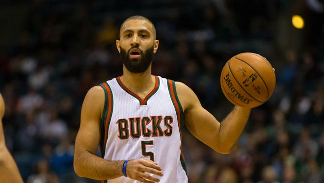 Kendall Marshall appeared in 28 games for the Bucks during the 2014-'15 season.