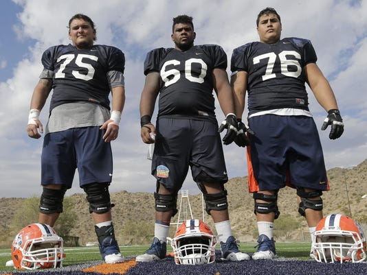 MAIN UTEP FOOTBALL OLINE