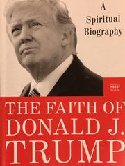 "Cover of ""The Faith of Donald J. Trump: A Spiritual Biography"" by David Brody and Scott Lamb"