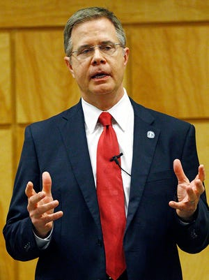 """Jeffrey S. Vitter, chancellor of the University of Mississippi, like his predecessor has assured fans that the nicknames """"Ole Miss"""" and """"Rebels"""" are here to stay."""