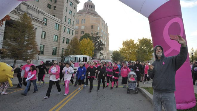The 2019 Making Strides event is Oct. 12 in downtown Asheville.