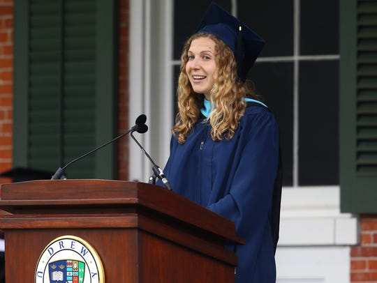 Drew University's 150th commencement featured speaker