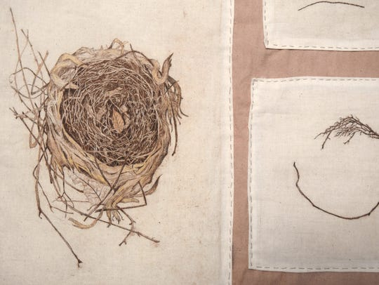 """The Individual Nature of a Nest,"" by Katie Grove."