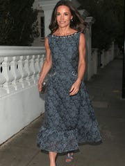 Pippa Middleton arriving for the ParaSnowBall 2017 fundraiser at The Hurlingham Club on May 4, 2017 in London.