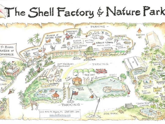 A map of the Shell Factory