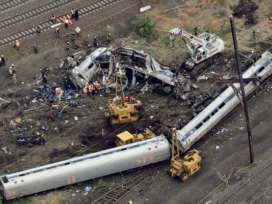 AP AMTRAK CRASH A FILE USA PA