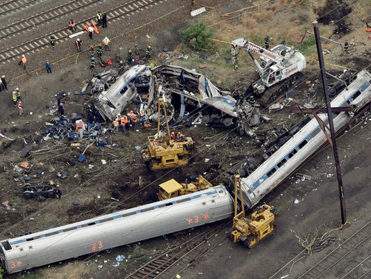 AP AMTRAK CRASH A FILE USA PA