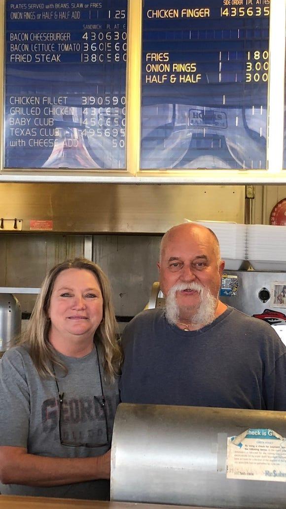 Greer BBQ owners, Teresa and John Gilstrap.