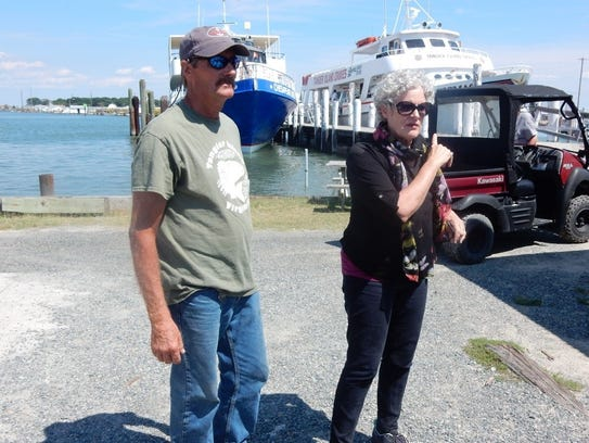 In this submitted photo, Tangier Island Mayor James