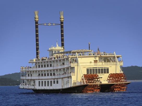 The Showboat Branson Belle underwent renovations recently. It offers lunch and dinner cruises on Table Rock Lake including live music and sightseeing.