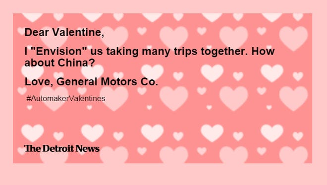 General Motors shares the love on Valentine's Day