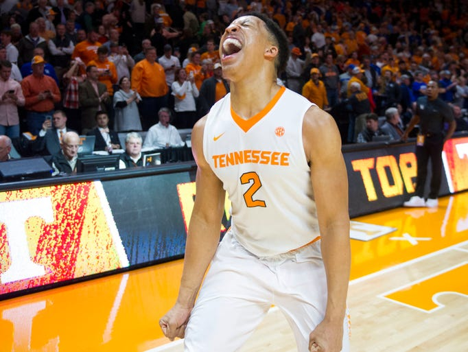 Uk Basketball: Photos: Tennessee's Upset Win Over No. 4 Kentucky