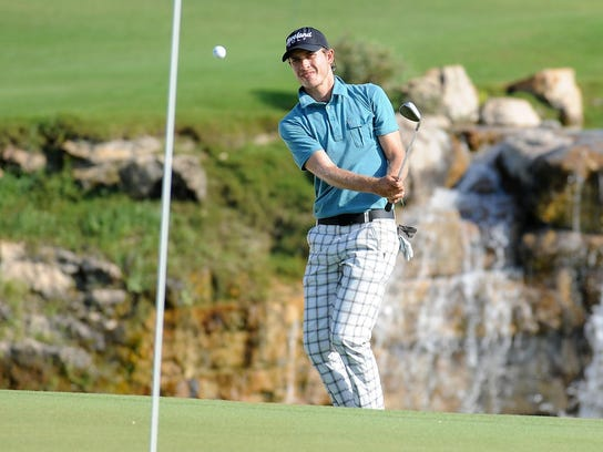 Daniel Mazziotta tied for second with a 7-under 133.