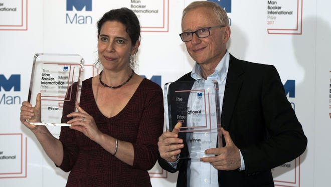 Israeli author David Grossman and translator Jessica Cohen received the 2017 Man Booker International Prize for 'A Horse Walks Into A Bar' Wednesday in London.