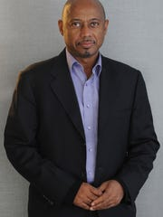 Raoul Peck, director and producer of 'I Am Not Your Negro,' a Magnolia Pictures release. Peck's parents settled in Voorhees, where his brother and co-producer Hebert Peck still lives.