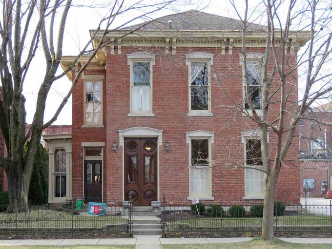 This Lafayette home was built in 1880 and combines