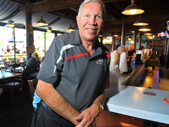 Rusty Fischer, owner of Rusty's Seafood and Oyster Bar.