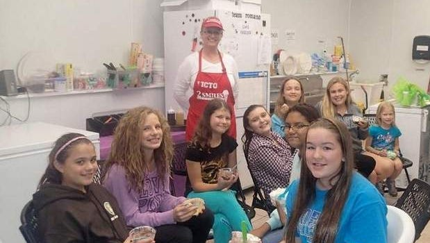 2 Smiles Ice Cream shop welcomes Girl Scouts who want to learn about starting a business.