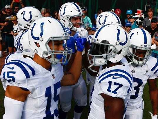 NFL: Indianapolis Colts at Jacksonville Jaguars