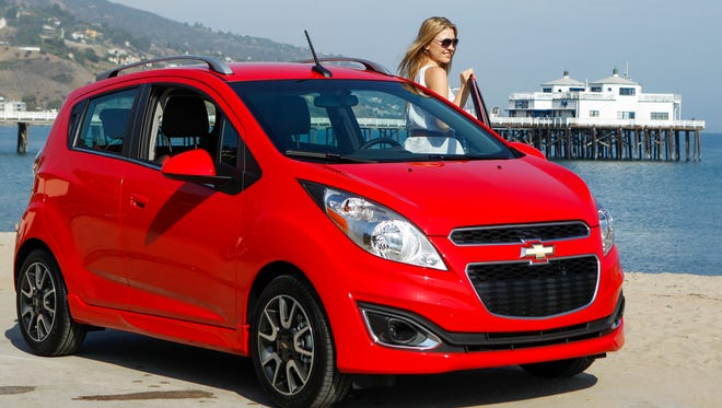 chevrolet is reaching Millennials with social media to promote vehicles aimed at them like this Chevrolet Spark