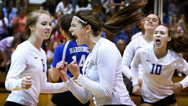 A state tournament trip will be on the line as Lauren Deaton and Harding host Battle Ground Academy Tuesday at 2 p.m.
