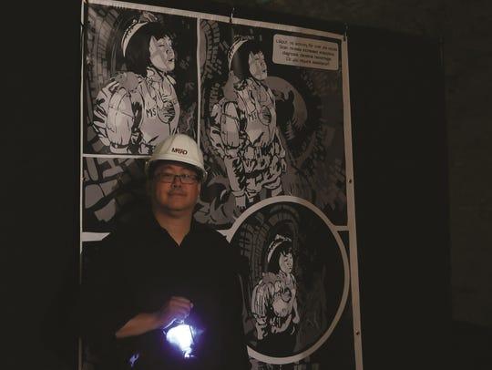 Arts innovator and comic book entrepreneur Jay Kalagayan,