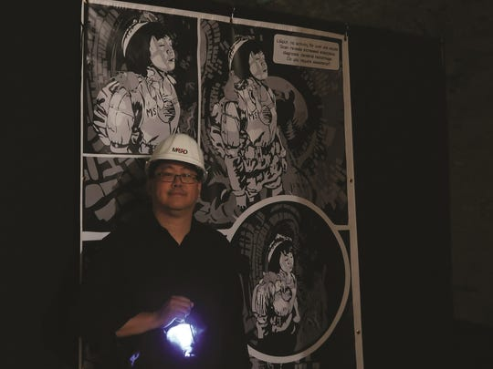 Arts innovator and comic book entrepreneur Jay Kalagayan, the man responsible for the MeSseD Tunnel Tour, running May 11-June 16 in the sub-basement of Union Hall, 1314 Republic St., Over-the-Rhine.