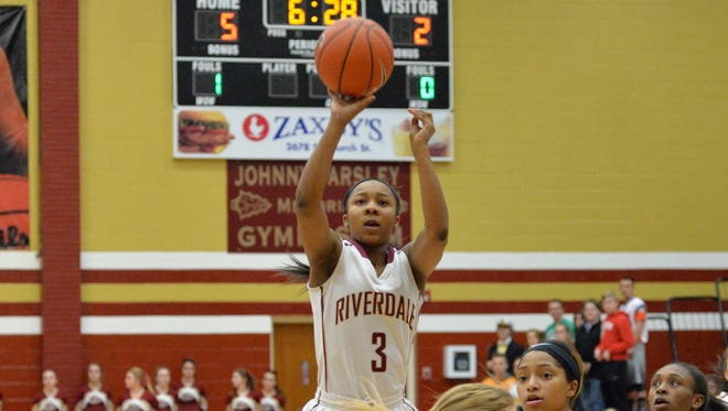 Riverdale's Anastasia Hayes scored 20 points Tuesday night in an 83-58 win over Smyrna.