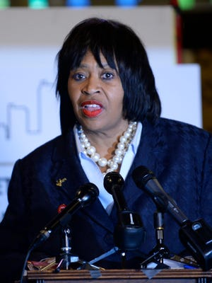 As Detroit's longest-serving council member, City Council President Brenda Jones said she remains focused on putting Detroit residents and city-based businesses to work, getting quality public education and meeting the needs of neighborhoods.