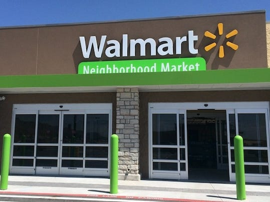 El Paso's ninth Walmart Neighborhood Market is scheduled to open Wednesday morning in the new, North Hills Crossing shopping center at Martin Luther King and U.S. Highway 54.