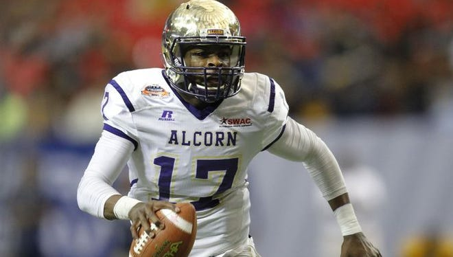 Alcorn State's Lenorris Footman is slated to lead the way at quarterback for the Braves next season.