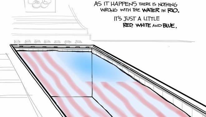 August Political Cartoons