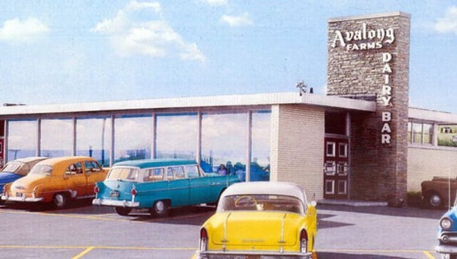 Avalong's Dairy Bar, depicted in a mural here, was located off of Mt. Zion Road in Springettsbury Twp. A shopping center currently sits at that location.