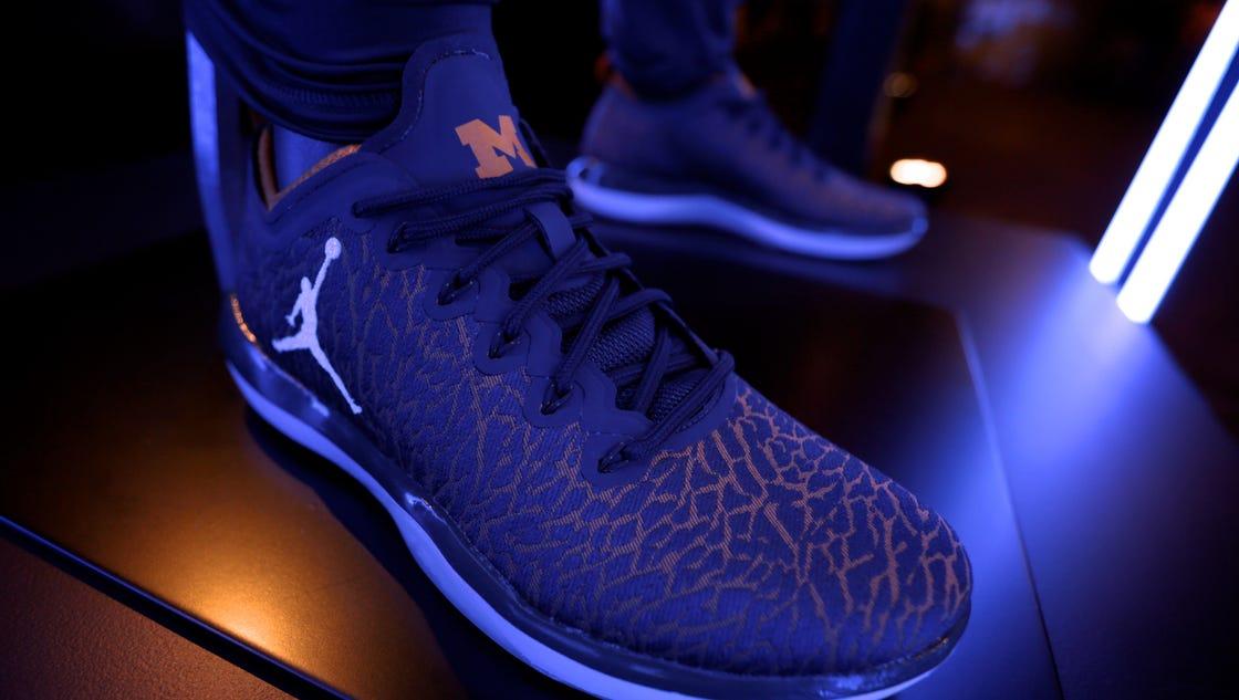 Nike Jordan Michigan Shoes