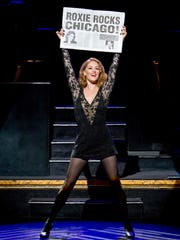 """Dylis Croman stars as Roxie Hart in the national tour of """"Chicago."""""""