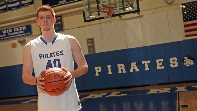 Kevin Degnan, the Rockland boys basketball player of the year, led the county in scoring at 23 points per game.
