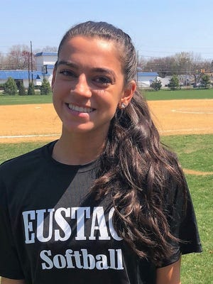 Bishop Eustace senior pitcher Izzy Kelly.