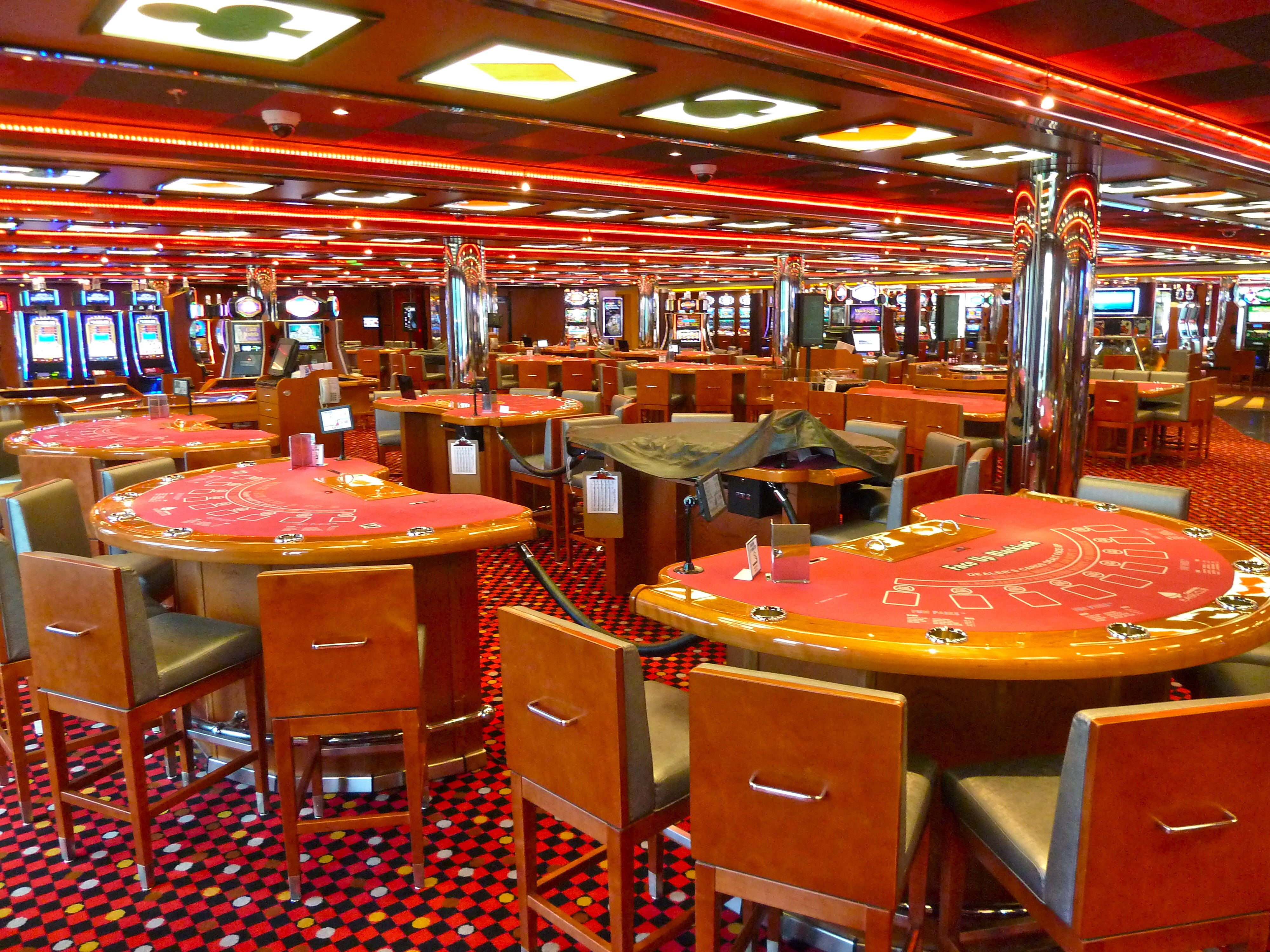 Is there any gambling in bermuda monte carlo casino map