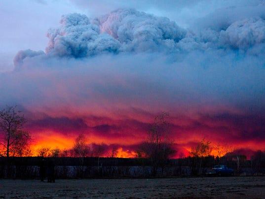 Alberta, Canada, wildfire