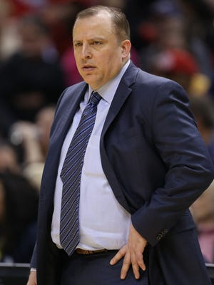 Chicago Bulls coach Tom Thibodeau says he has no regrets in how he coaches his team.