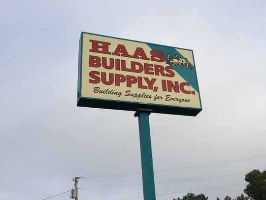 Haas Builders Supply Inc. in Vesper has been family-owned since its beginning.